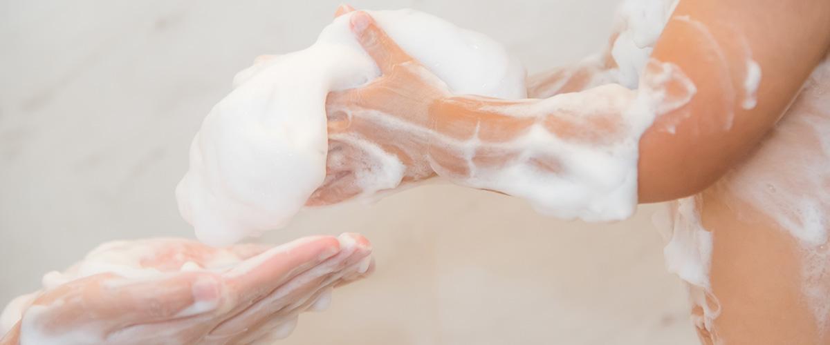 binka(ビンカ)はコメヤ薬局が開発した100%植物性の無添加石鹸
